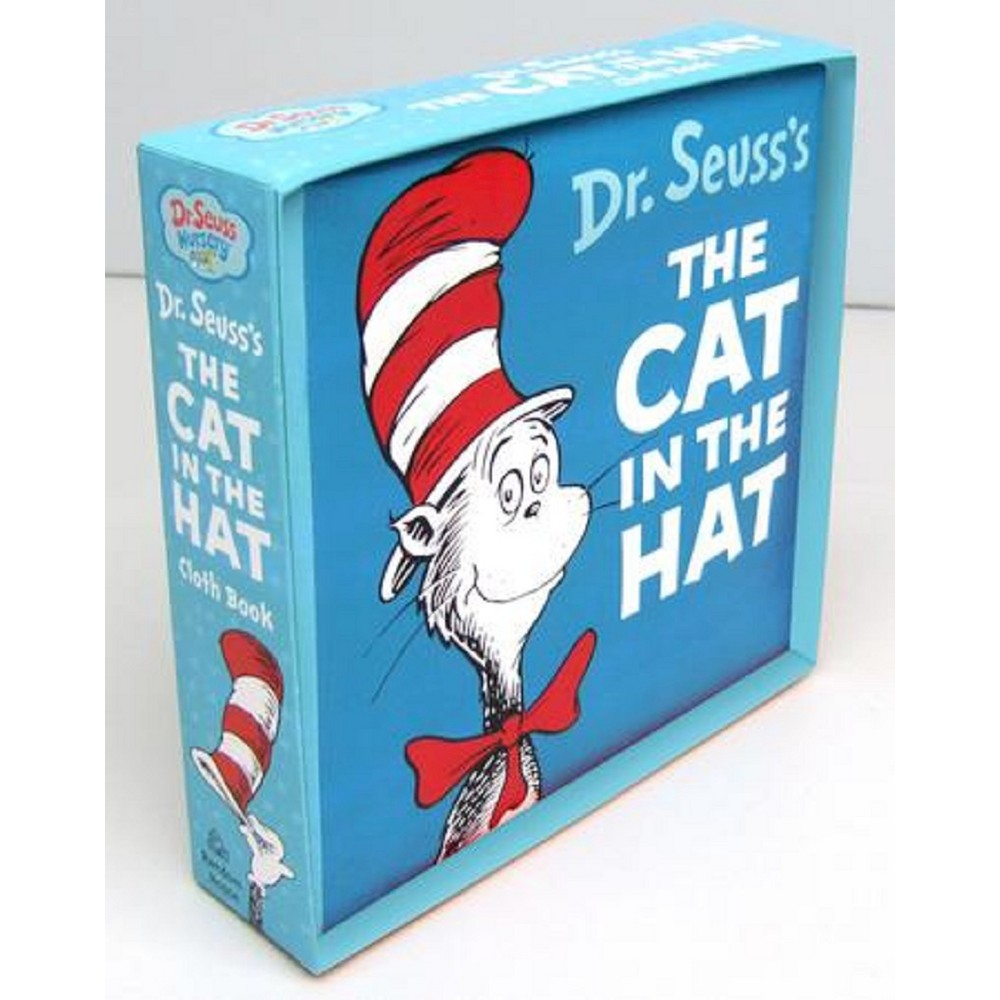 The Cat in the Hat ( Dr. Seuss Nursery) (Rag Book) by Dr. Seuss