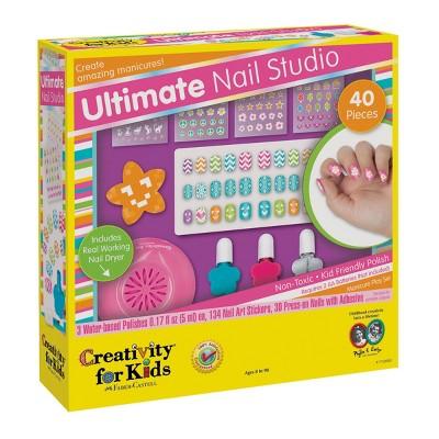 Creativity For Kids Ultimate Nail Studio Activity Kit