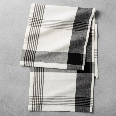 Table Runner Plaid - Sour Cream - Hearth & Hand™ with Magnolia