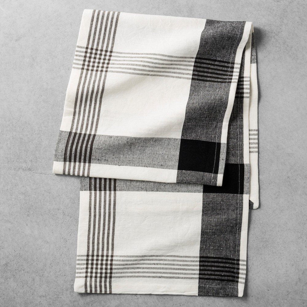 Table Runner Plaid - Sour Cream - Hearth & Hand with Magnolia