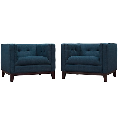 Serve Armchairs Set of 2 - Modway - image 1 of 5