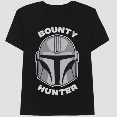 Men's Star Wars The Bounty Hunter Short Sleeve Graphic T-Shirt - Black