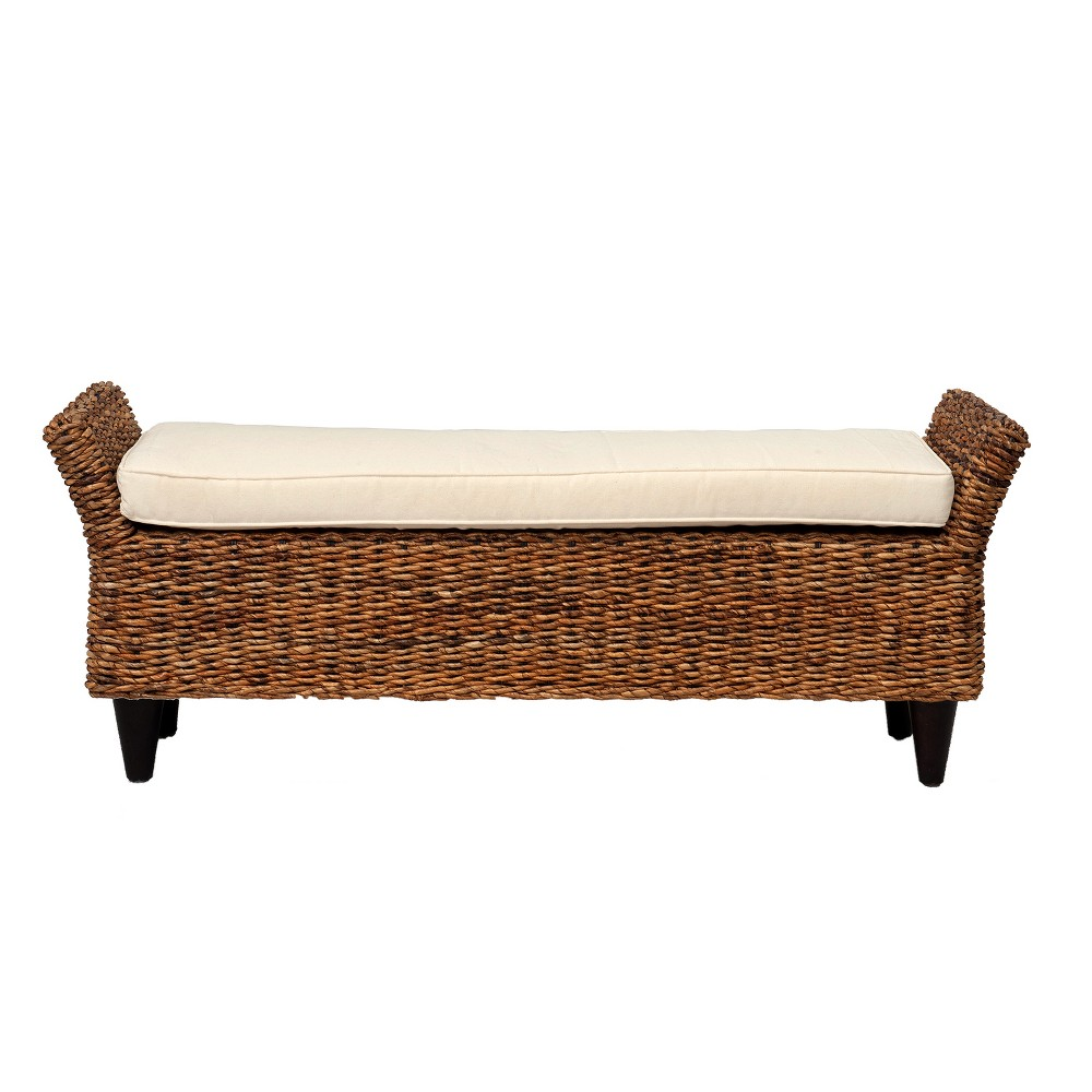 Cline Abaca Bench Brown - East At Main