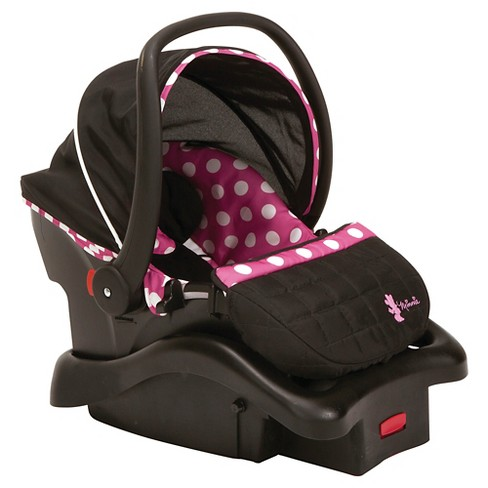 DisneyR Minnie Mouse Light N Comfy Luxe Infant Car Seat Target
