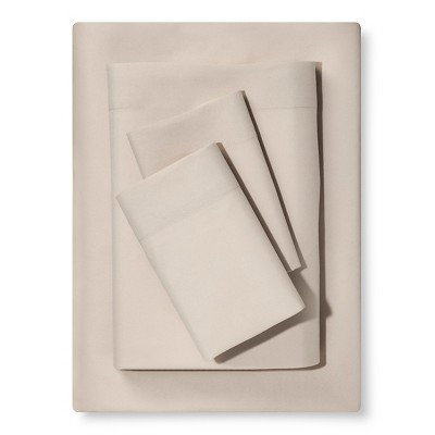 Queen Microfiber Sheet Set Sandalwood - Room Essentials™