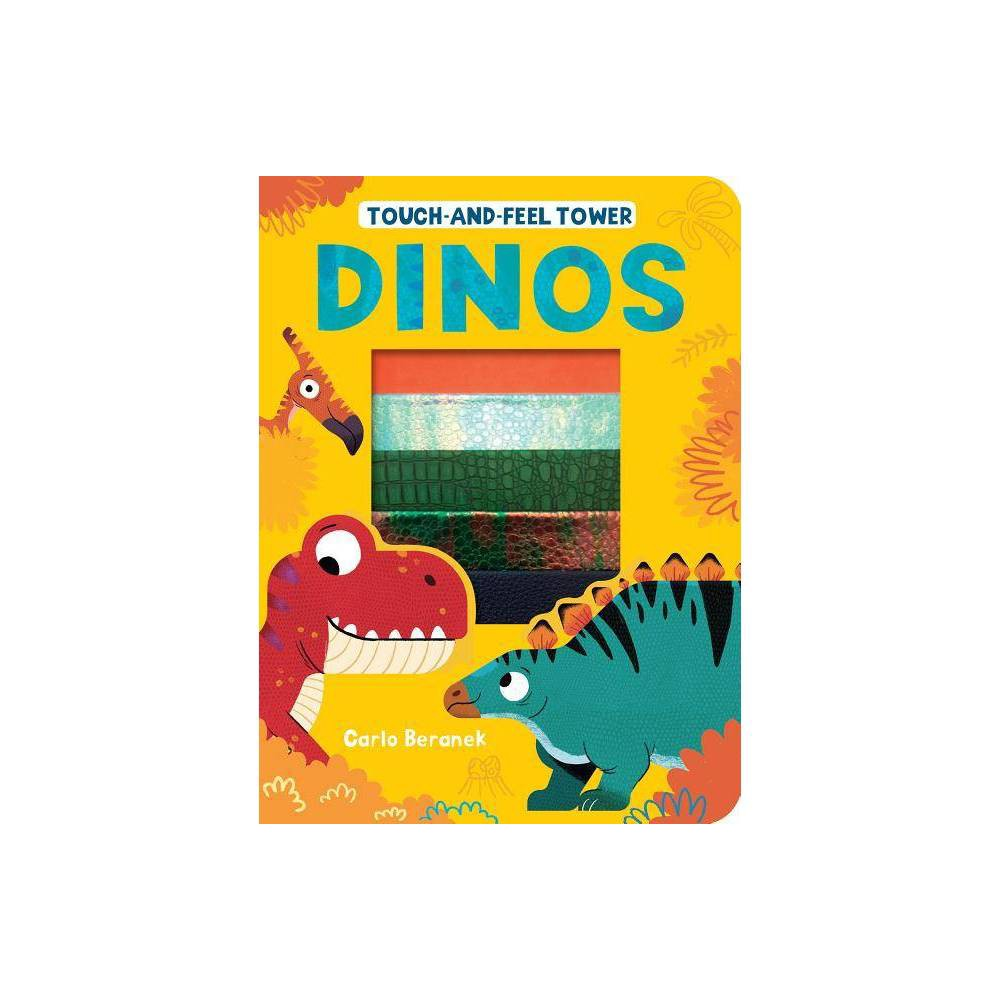 Touch And Feel Tower Dinos By Patricia Hegarty Board Book