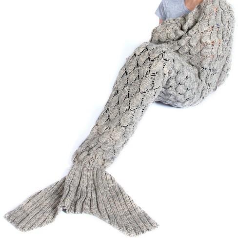 Mermaid Blanket - Shiraleah - image 1 of 4