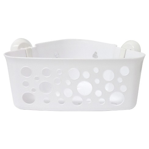 Corner Storage Suction Basket - InterDesign - image 1 of 2