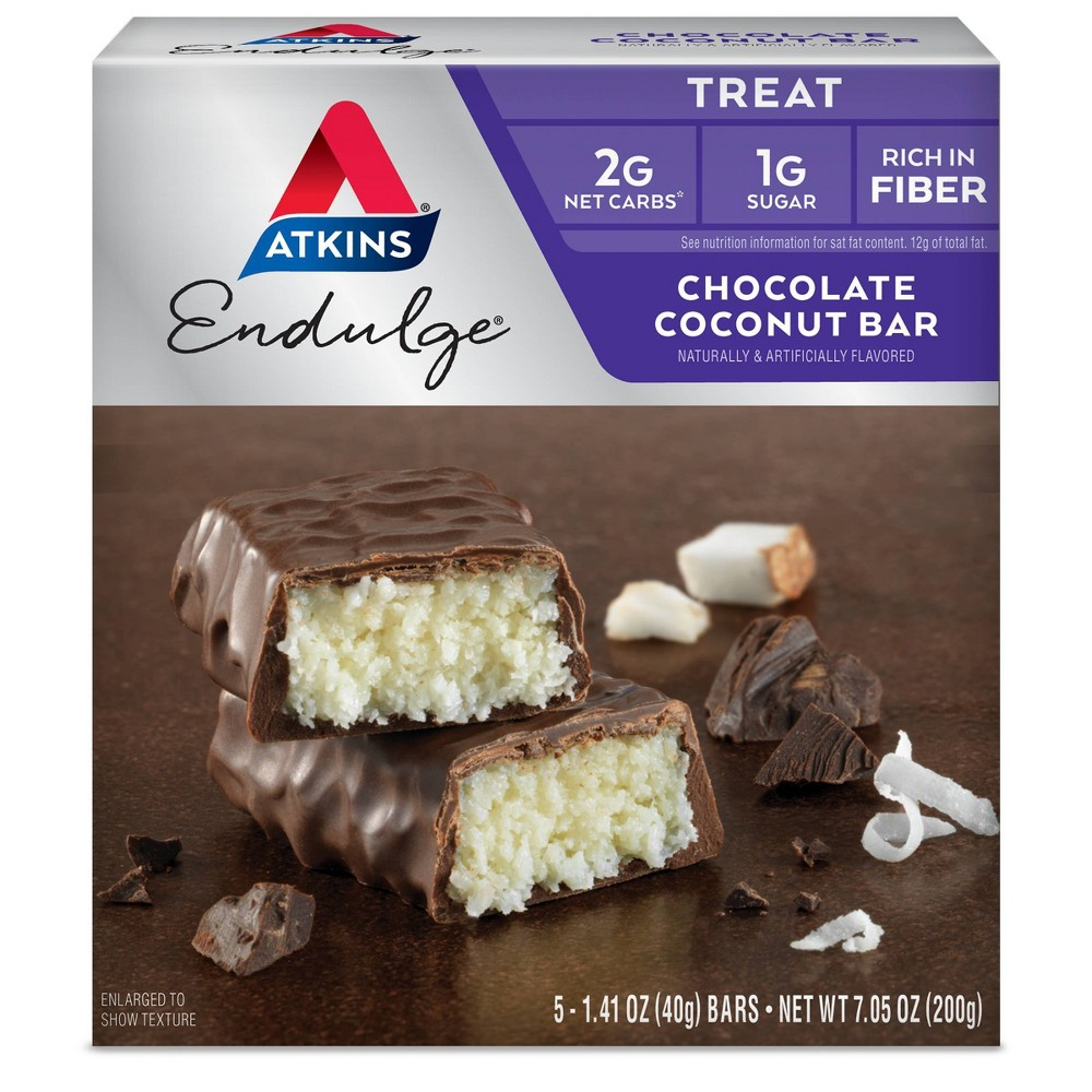 Atkins Endulge Chocolate Coconut Bar 5ct