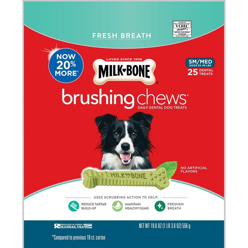 Milk-Bone Brushing Chews Fresh Small/Medium 14.1oz