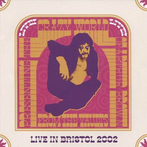 Arthur brown - Arthur brown:Live in bristol 28th oct (CD) - image 1 of 1
