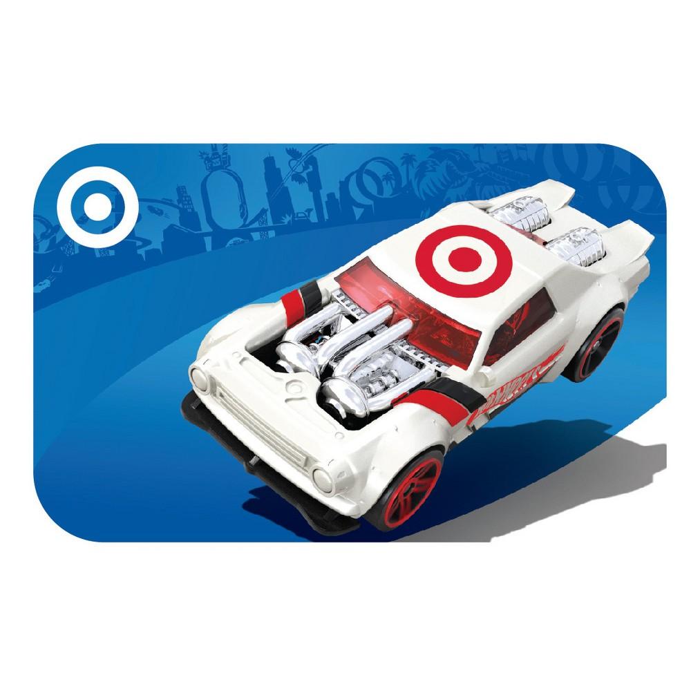 Hot Wheels GiftCard $10, Target Giftcards