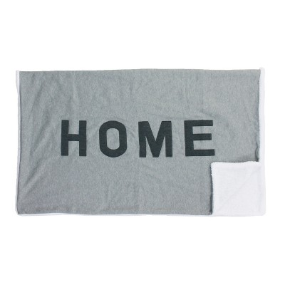 Home Throw Blanket Gray - Décor Therapy