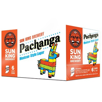 Sun King Pachanga Mexican Style Lager Beer - 6pk/12 fl oz Cans