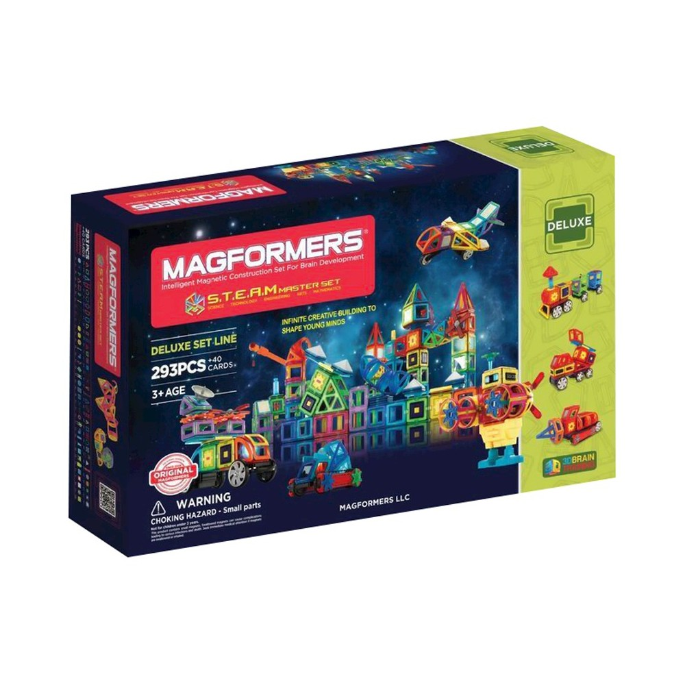 Magformers Steam Master 293 PC Set