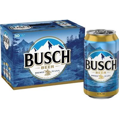 Busch Beer - 30pk/12 fl oz Cans