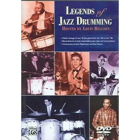 LEGENDS OF JAZZ DRUMMING PART 1 & 2 (DVD) - image 1 of 1