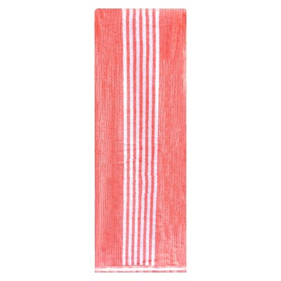 XL Stripe Beach Towel Desert Flower