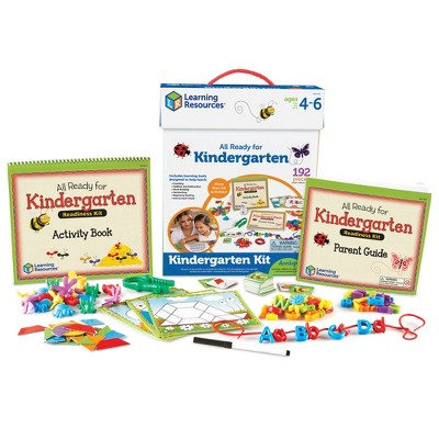 Learning Resources All Ready for Kindergarten Readiness Kit, Ages 4+