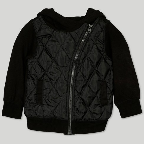 Afton Street Baby Boys' Quilted Hooded Jacket