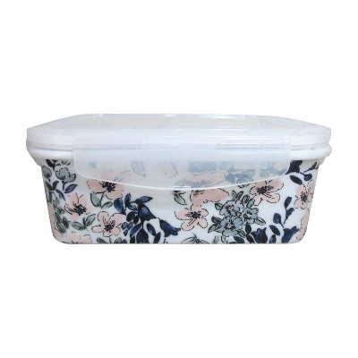 Food Container with plastic lid Pink - Threshold™
