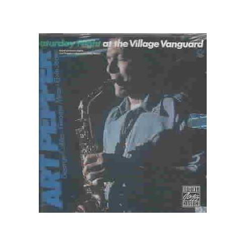 Art Pepper - Saturday Night at Village Vanguard (CD) - image 1 of 1