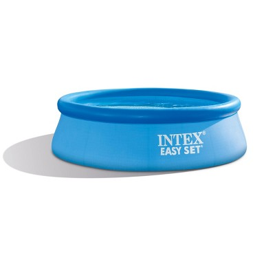 Intex 8ft X 30in Easy Set Inflatable Swimming Pool With 330 Gph Filter Pump Target