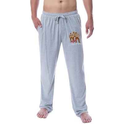A Christmas Story Mens' Movie Logo Black Bart Gang Sleep Pajama Pants