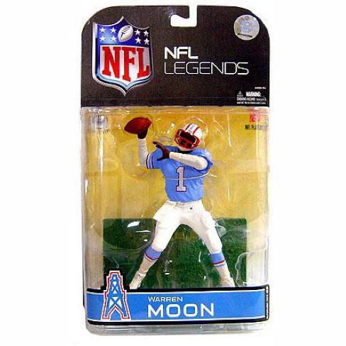 McFarlane Toys NFL Houston Oilers Sports Picks Legends Series 4 Warren Moon Action Figure [White Sleeves] - image 1 of 1