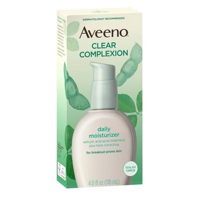 Aveeno Clear Complexion Blemish Treatment Daily Moisturizer - 4oz