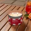 9oz Jar 2-Wick Americana Citronella Red Mandarin Candle - Sun Squad™ - image 2 of 3