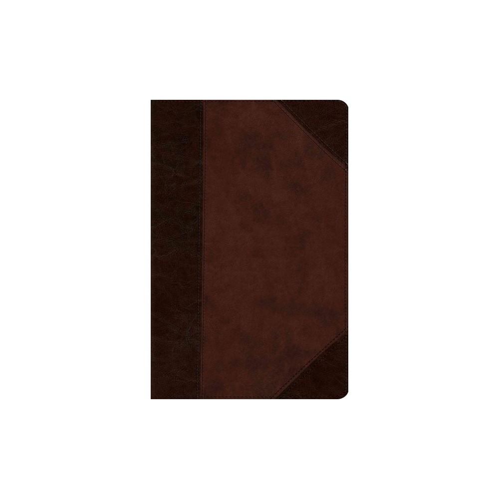 Holy Bible : English Standard Version Compact Bible, Brown/walnut, Trutone, Portfolio Design (Paperback)