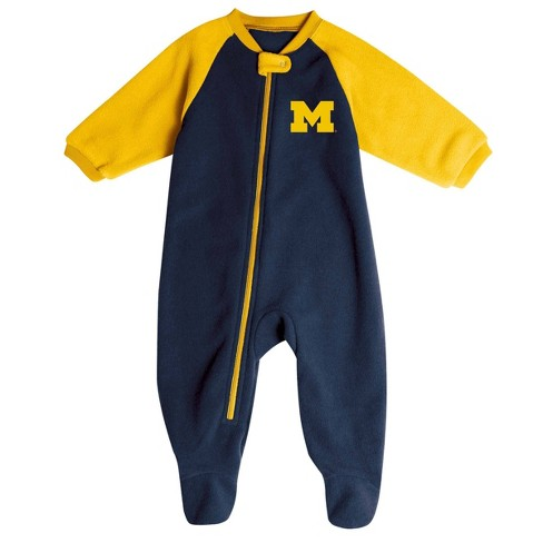 NCAA Michigan Wolverines Infant Blanket Sleeper - image 1 of 2