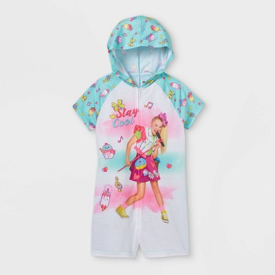 Girls' JoJo Siwa Stay Cool Union Suit - Green
