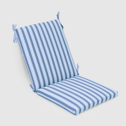 Coastal Stripe Outdoor Chair Cushion - Threshold™ - image 1 of 3