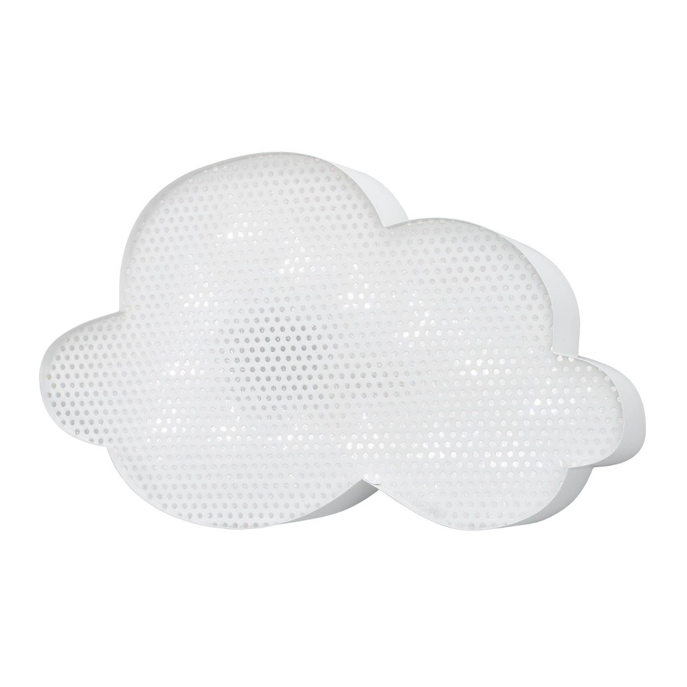 Image of Nojo Lighted Room Cloud Decorative Wall Sculpture