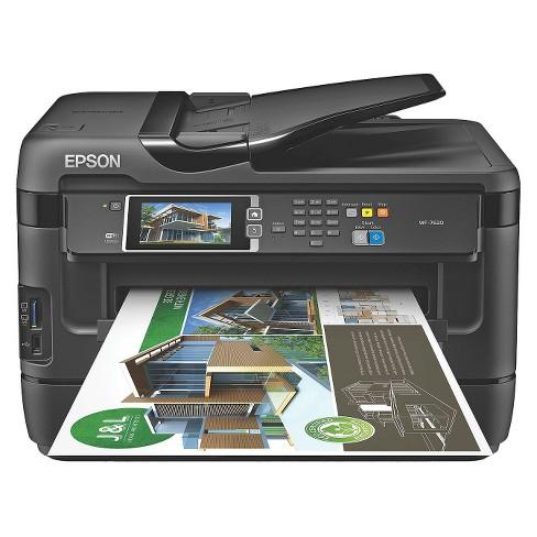 Epson WorkForce WF-7620 Wireless Wide-Format Printer