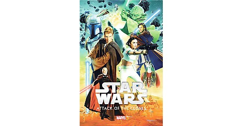 Star Wars Episode II : Attack of the Clones (Hardcover) (Henry Gilroy) - image 1 of 1