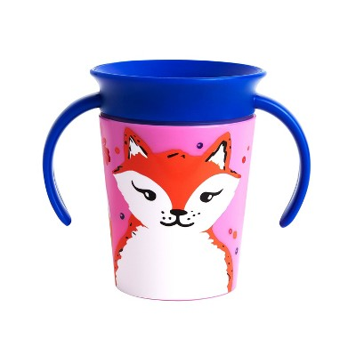 Munchkin Miracle 360° WildLove Trainer Cup - 6oz Fox