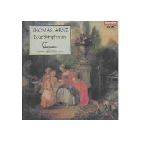 Sheppard/Cantilena - Arne:Symsphony 1 to 4 (CD) - image 1 of 1