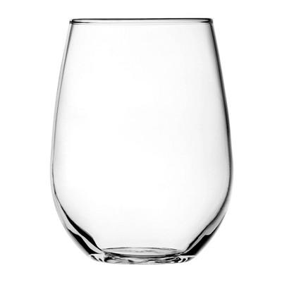 Anchor 15oz 4pk Glass Vienna Stemless Wine Glasses