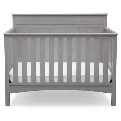 Delta Children Fancy 4-in-1 Standard Full-Sized Crib - Gray