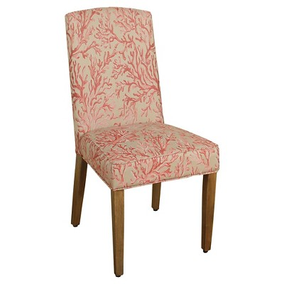 Parsons Dining Chair - Pink Coral - HomePop