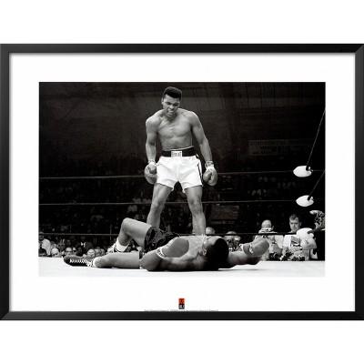 Art.com - Muhammad Ali vs. Sonny Liston Framed Art Print