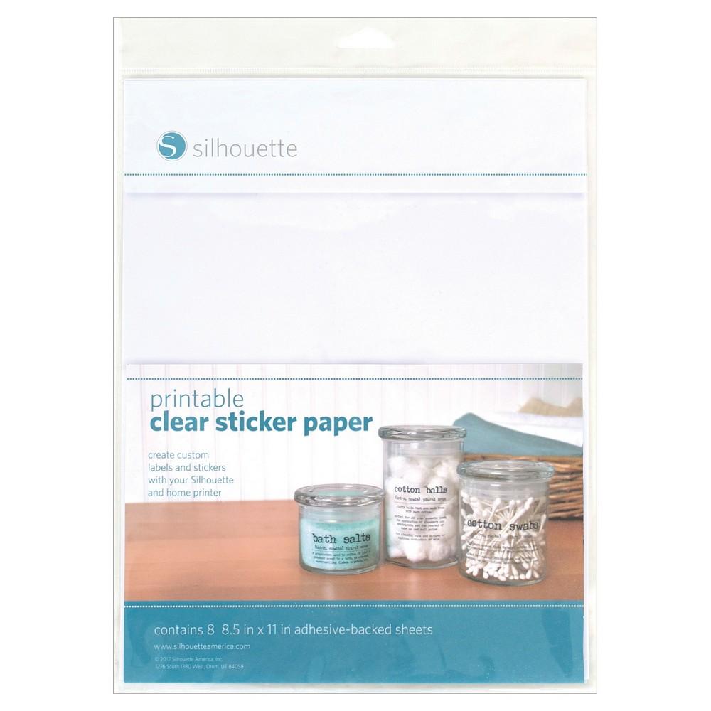 Silhouette Scrapbook Page - Multicolored, Multi-Colored