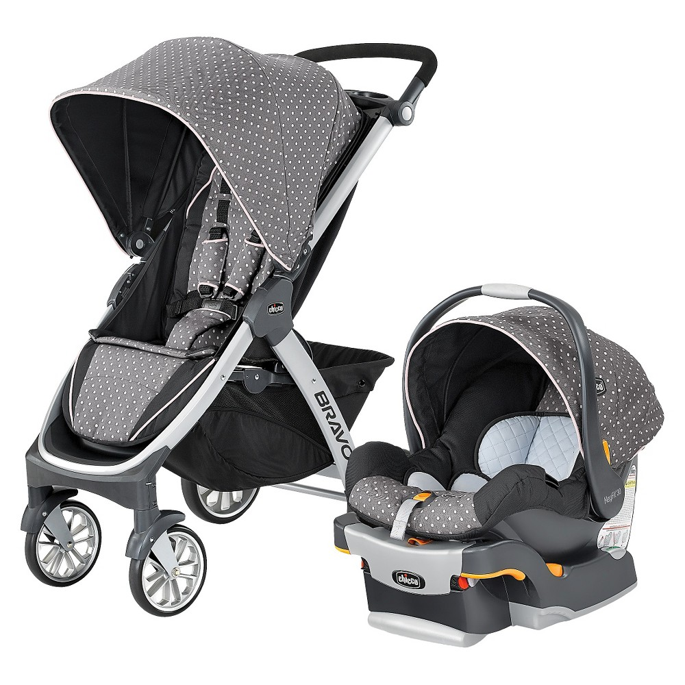 Image of Chicco Bravo Travel System - Lilla