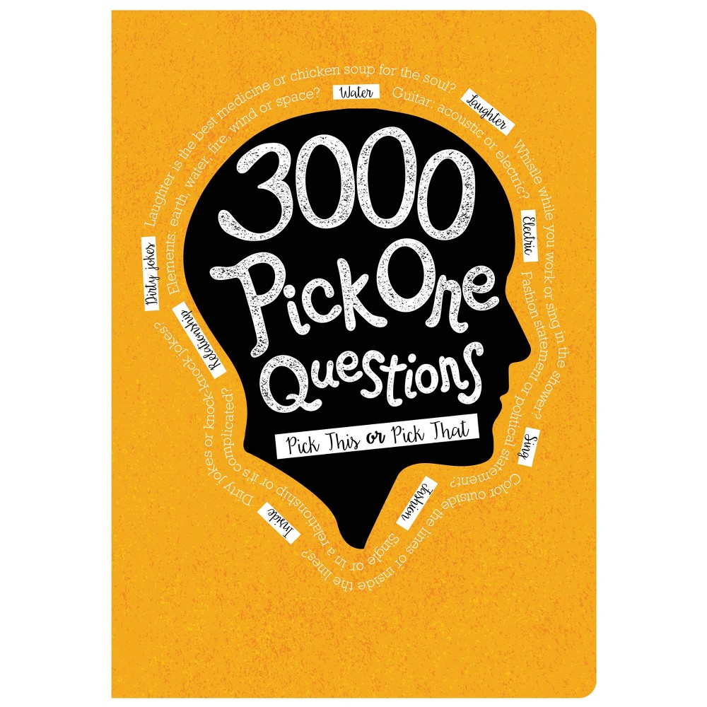 "Image of ""Guided Journal 8.5""""x 6"""" 3000 Pick Questions - Piccadilly, Yellow"""