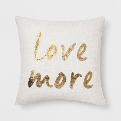 Love More  Throw Pillow - Room Essentials™