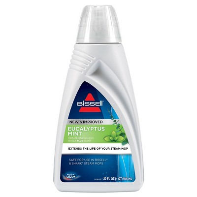 BISSELL® Eucalyptus Mint 32oz. Scented Dermineralized Steam Mop Water - 1392