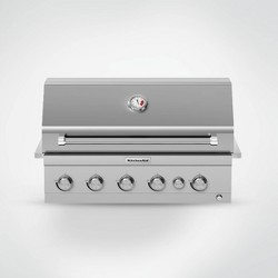 KitchenAid 6-Burner Stainless Steel Gas Grill 740-0781 - Silver
